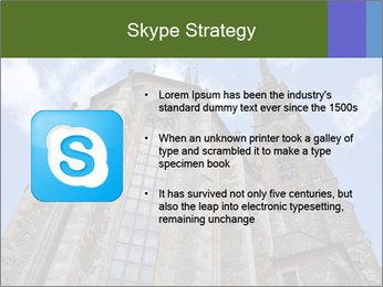 Blue Sky And Church PowerPoint Template - Slide 8