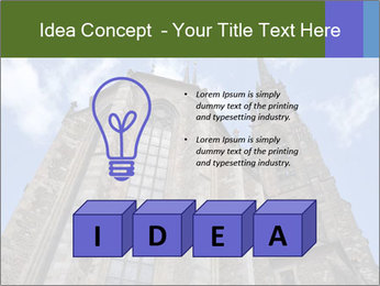 Blue Sky And Church PowerPoint Template - Slide 80