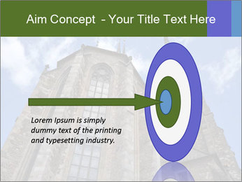 Blue Sky And Church PowerPoint Template - Slide 83