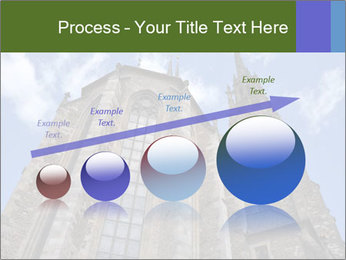 Blue Sky And Church PowerPoint Template - Slide 87