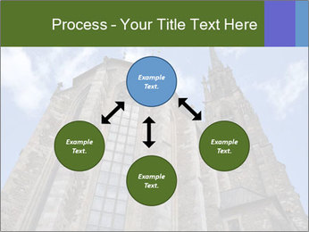 Blue Sky And Church PowerPoint Template - Slide 91