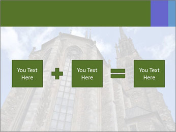 Blue Sky And Church PowerPoint Template - Slide 95