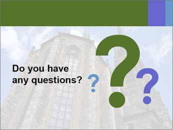 Blue Sky And Church PowerPoint Template - Slide 96