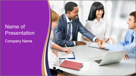 Business Coalition PowerPoint Template