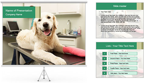 Vet Treatment PowerPoint Template