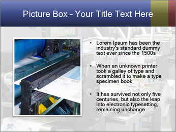Offset Machine PowerPoint Templates - Slide 13