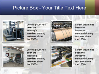 Offset Machine PowerPoint Templates - Slide 14