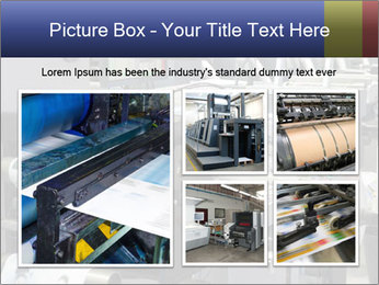 Offset Machine PowerPoint Templates - Slide 19