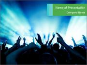 Fun Disco Club PowerPoint Templates