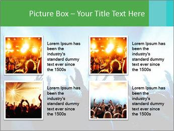 Fun Disco Club PowerPoint Template - Slide 14