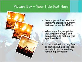 Fun Disco Club PowerPoint Template - Slide 17