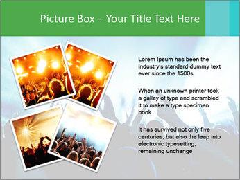 Fun Disco Club PowerPoint Template - Slide 23