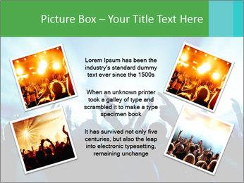 Fun Disco Club PowerPoint Template - Slide 24