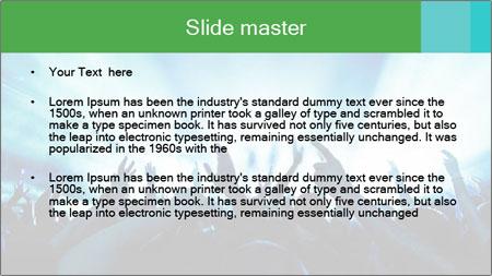 Fun Disco Club PowerPoint Template - Slide 2