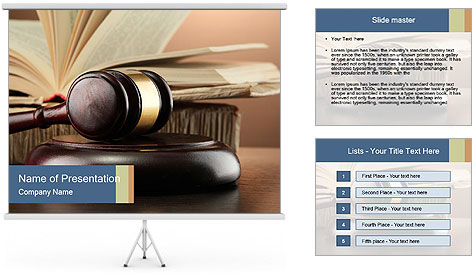 Law Concept PowerPoint Template