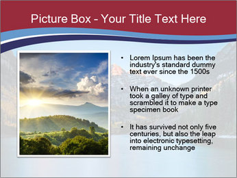 Sunrise at Maroon Bells PowerPoint Template - Slide 13