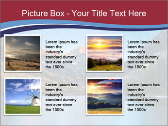 Sunrise at Maroon Bells PowerPoint Template - Slide 14
