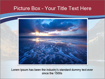 Sunrise at Maroon Bells PowerPoint Template - Slide 16