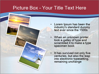 Sunrise at Maroon Bells PowerPoint Template - Slide 17