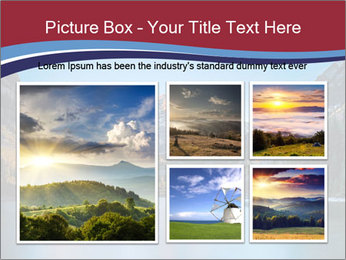 Sunrise at Maroon Bells PowerPoint Template - Slide 19