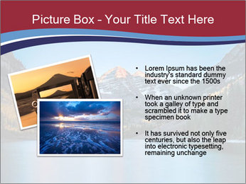 Sunrise at Maroon Bells PowerPoint Template - Slide 20