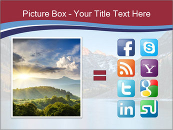 Sunrise at Maroon Bells PowerPoint Template - Slide 21