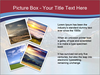Sunrise at Maroon Bells PowerPoint Template - Slide 23