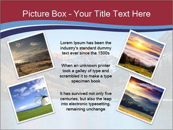 Sunrise at Maroon Bells PowerPoint Template - Slide 24