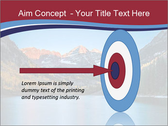 Sunrise at Maroon Bells PowerPoint Template - Slide 83