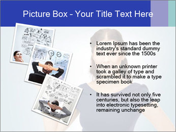 Happy woman PowerPoint Templates - Slide 17