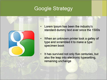 Three kinds of green juice PowerPoint Template - Slide 10
