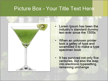 Three kinds of green juice PowerPoint Template - Slide 13