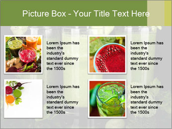 Three kinds of green juice PowerPoint Template - Slide 14