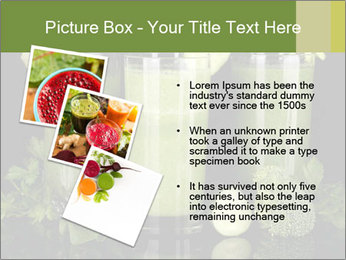 Three kinds of green juice PowerPoint Template - Slide 17