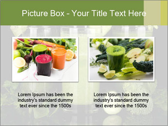 Three kinds of green juice PowerPoint Template - Slide 18