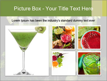 Three kinds of green juice PowerPoint Template - Slide 19