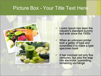 Three kinds of green juice PowerPoint Template - Slide 20