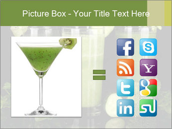Three kinds of green juice PowerPoint Template - Slide 21