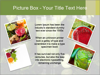Three kinds of green juice PowerPoint Template - Slide 24