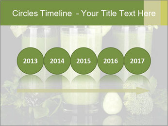 Three kinds of green juice PowerPoint Template - Slide 29