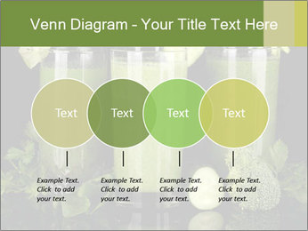 Three kinds of green juice PowerPoint Template - Slide 32