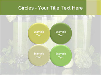 Three kinds of green juice PowerPoint Template - Slide 38