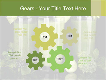 Three kinds of green juice PowerPoint Template - Slide 47