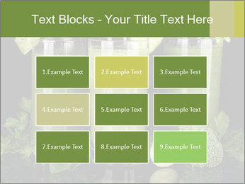 Three kinds of green juice PowerPoint Template - Slide 68