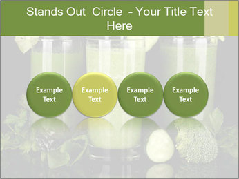 Three kinds of green juice PowerPoint Template - Slide 76