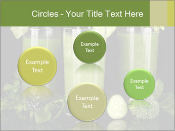 Three kinds of green juice PowerPoint Template - Slide 77