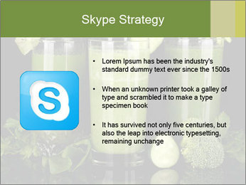 Three kinds of green juice PowerPoint Template - Slide 8