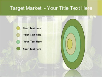 Three kinds of green juice PowerPoint Template - Slide 84