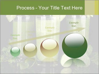 Three kinds of green juice PowerPoint Template - Slide 87