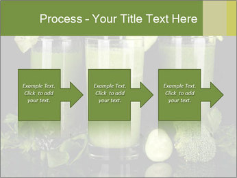 Three kinds of green juice PowerPoint Template - Slide 88